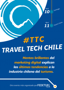 Flyer Travel Tech Chile